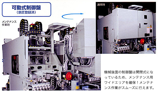 可動式制御盤